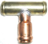 Brass Coupler T 1""