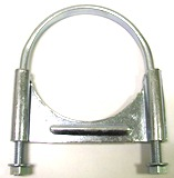 Guillotine Clamp with Flat U Bolt - 4""