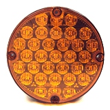 "7"" LED Warning Overhead Light Amber"