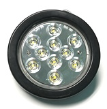 "LED Clear, 4"" Grommet Mount"