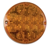 "7"" LED Warning Light with IC Plug - Amber"