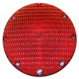 "LENS ONLY, 7"" Stop & Tail Light Baader Brown"