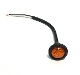 LED Marker Lamp Amber Grommet Mount