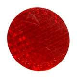 Stick-On Tape Reflector Red