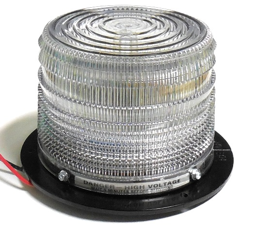 Low Profile Clear Strobe 4""
