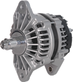 Delco Remy J Hook Alternator, 28SI, 12V, 160A,