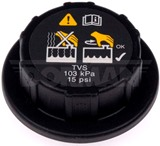 Heavy Duty Fluid Reservoir Cap IC & Ford