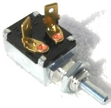 Door Momentary Switch (SPST, Normally ON - OFF with Plunger, Spring Return To ON) Blue Bird/ Amtran