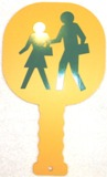 Crossing Guard Paddle People/Stop