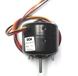 "Single Shaft Blower Motor 1/4"" Shaft CCW"