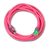 Sub Zero® SJEOW Cold Weather Extension Cords 50' 12/3 Pink