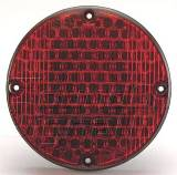 "7"" LED Warning Light Red"