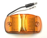 "Clearance Marker Light  4"" Combination Amber"