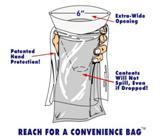 Convenience Bag for Vomit, Urine, etc. Disposal