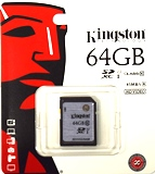 Kingston Ultimate 64G SD Card, Class 10